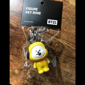 Chimmy Figure key chain key holder BT21 key ring